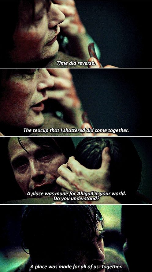 """I wanted to surprise you."" Hannibal 2x13 Mizumono"