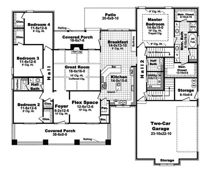 431 best FLOOR PLAN HOUSE PLAN images on Pinterest Floor plans - work plan