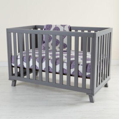 Low-Rise Crib (Grey Frame with Grey Base)