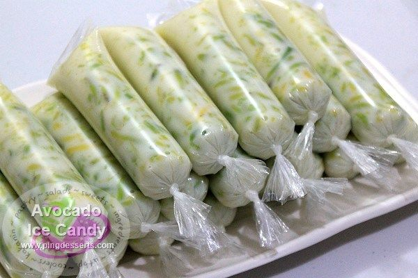 how to make ice candy with coconut milk