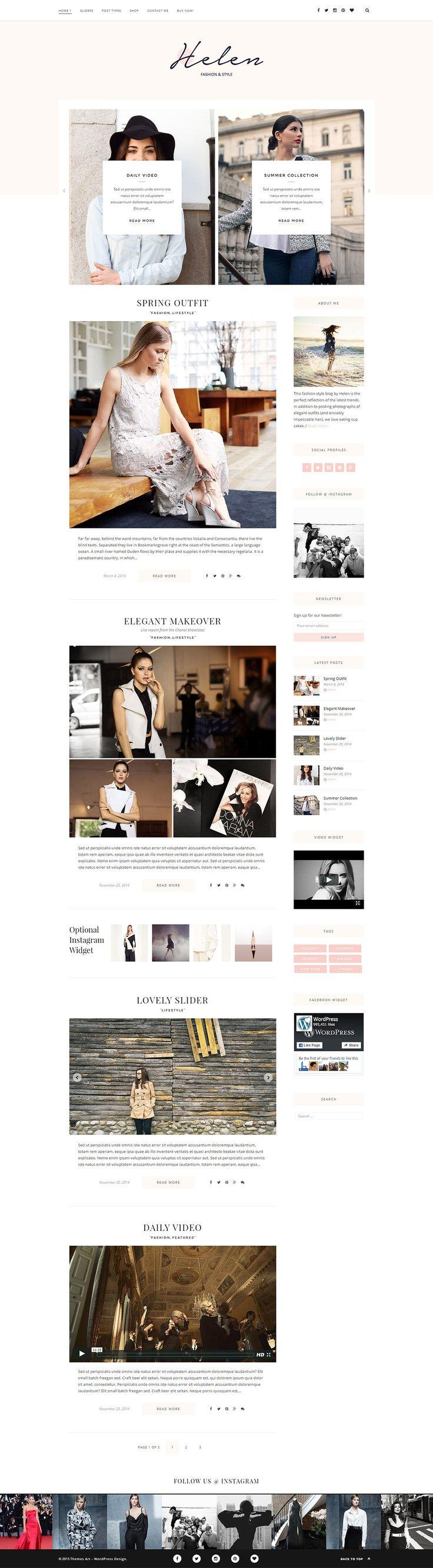 146 best WordPress themes images on Pinterest