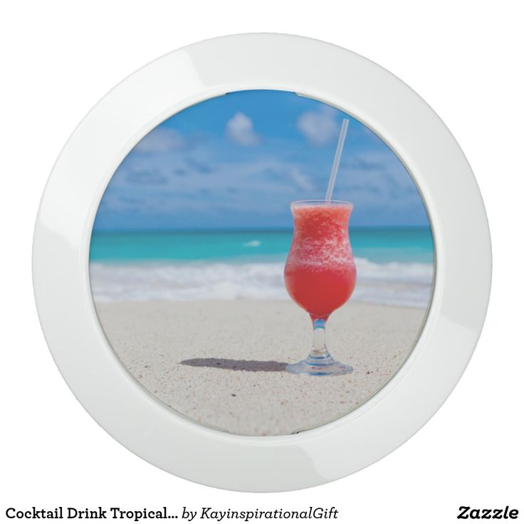 Cocktail Drink Tropical Beach Turquoise Water