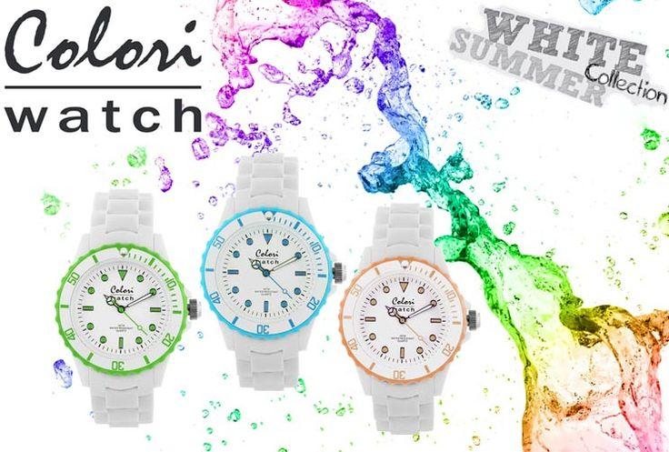 ΝΕΑ μοντέρνα χρωματιστά ρολόγια COLORI! Δείτε όλη τη συλλογή μόνο στο OROLOI.GR! http://www.oroloi.gr/index.php?cPath=652