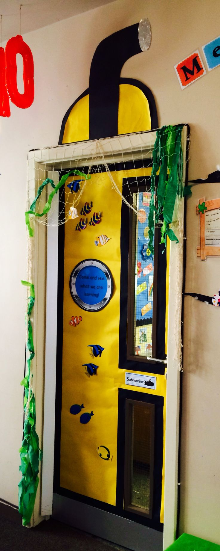Yellow Classroom Decor ~ Best images about vbs submerged on pinterest