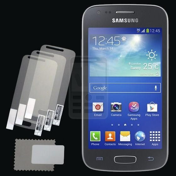 Retail Pack 3x Glossy Ultra Clear LCD Screen Protector Guard Cover Film Shield for Samsung Galaxy ACE 3 III S7270 S7272 S7275 #Affiliate
