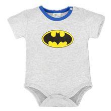 2017 Roupas Bebê Recém-nascido Menino Ropa Bebe Algodão de Manga Curta Macacão de Bebê Superman Traje Do Bebê Do Aniversário De Batman Roupas Do Corpo Do Bebê(China)