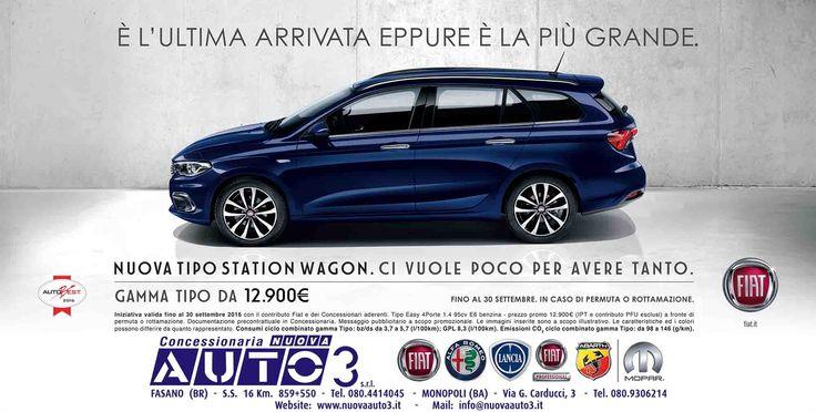GAMMA TIPO DA € 12.900,00  http://www.nuovaauto3-fcagroup.it/fiat/promozioni#84361
