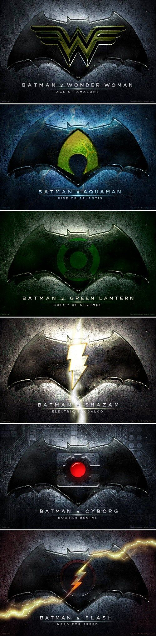 Lol, I like this one but it's trueWV won't make a DC movie without the Dark Knight.