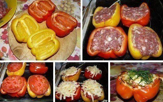 Plnené papriky