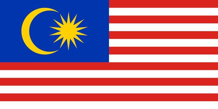 Cuenta con unas franjas horizontales del mismo tamaño de color rojo y blanco y un cuadrante de color azul en el cantón. Las franjas rojas y blancas suman catorce y simbolizan los trece estados federados malayos y la federación malaya. aparecen un decreciente, un símbolo islámico, y una estrella (Venus) de catorce puntas. El color amarillo representa a la monarquía malaya.