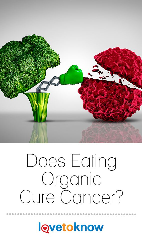 hype about the possibility of curing cancer through food in particular when grown organically has some people questioning their food choices how