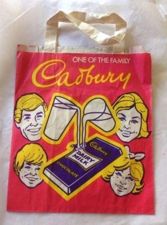 Cadbury 70's showbag