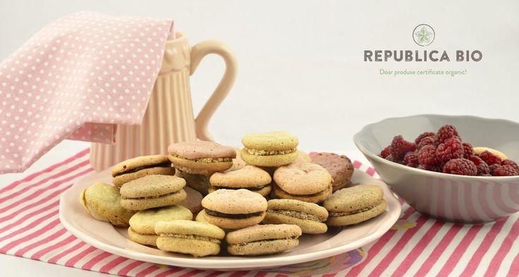 Video: Macarons cu zahăr brun și culori 100% naturale – Republica BIO