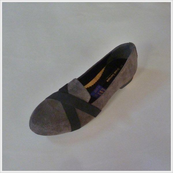 Loafer/Φλατ: Καστόρι, Λάστιχα Χιαστί (240.110) | e-Tresor.gr: Ladies Big Footwear > Tresor by Yiannis Xouryas > www.e-Tresor.gr & www.GreekShoes.Net