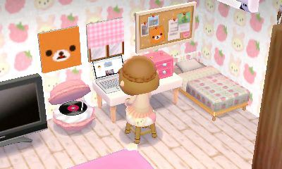 Room inspiration: cute girly rilakumma room