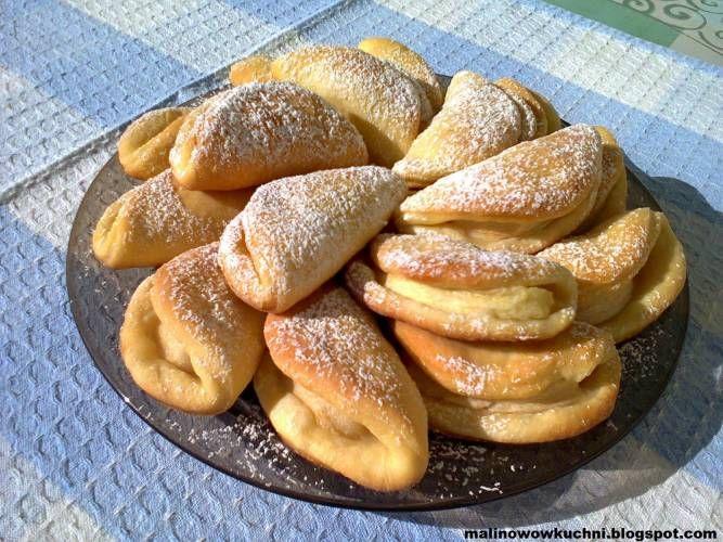 Ciasteczka drożdżowe z jabłkami