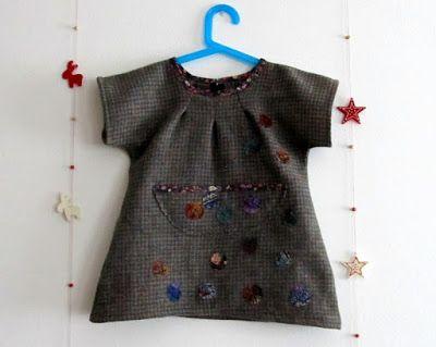 OrloSubito it: Riciclare scampoli 4: vestito di lana