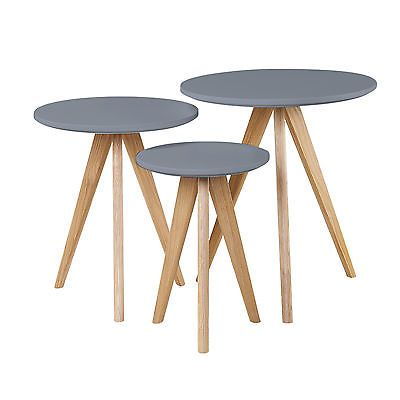 Retro Scandinavian Home Furniture TV Stand Nest Table Side Dining Coffee Table