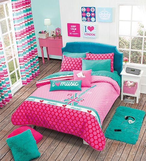 25 best ideas about edredones juveniles en pinterest for Habitaciones juveniles nina