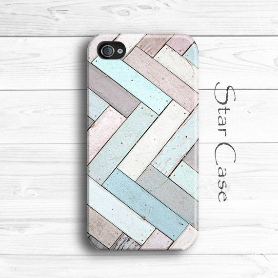 iPhone 5 Case, iPhone 5s Case, Wood Print iPhone 4 Case, Wood iPhone 5C Case Geometric iPhone 5 Case iPhone 4s Case by Star Case