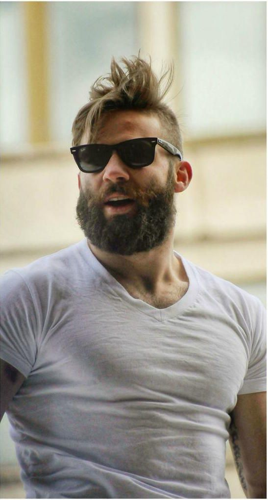 Julian Edelman...I think his shirt is too tight!