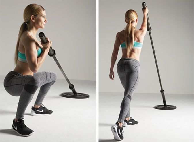 Total-Body Landmine Circuit | The Best Workouts, Fat Loss and Nutrition Info for Women's Fitness | Oxygen Magazine