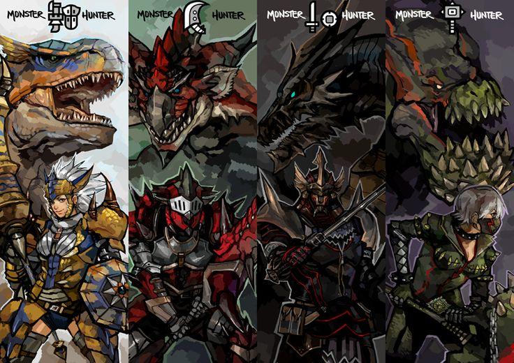 datworks: Monster Hunter .set one by zuqling.deviantart.com on @DeviantArt