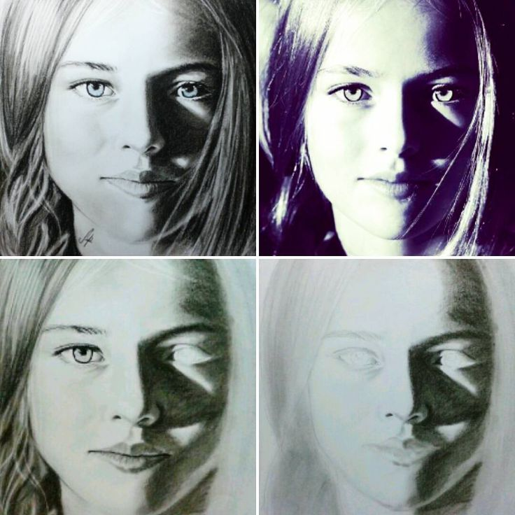 WIP on a portrait drawing with charcoal pencils #portrait #drawing #charcoal #stepbystep