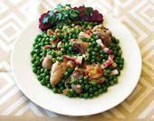 Receitas - Frango com Ervilhas à Moda de Sintra - Roteiro Gastronómico de Portugal