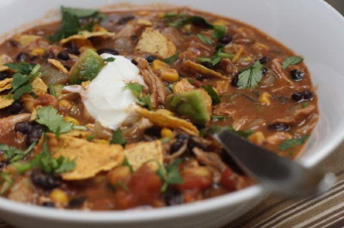 Trader Joes Chicken Taco Soup recipe