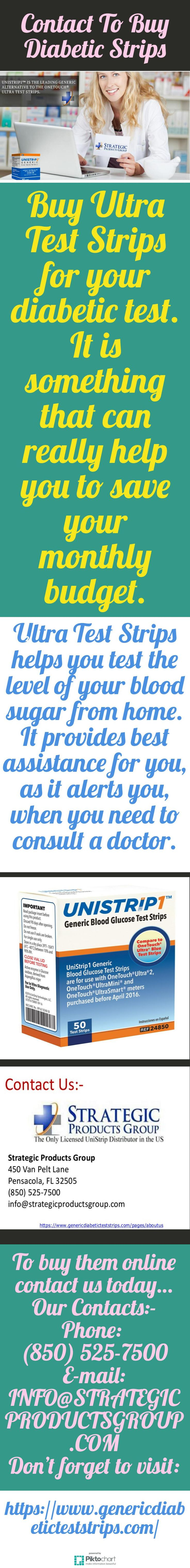 Our Diabetic Strips include a blood glucose monitor and test strip. We offer significant discounts on the aforementioned products. Contact To Buy Diabetic Strips, and visit our website: https://www.genericdiabeticteststrips.com/