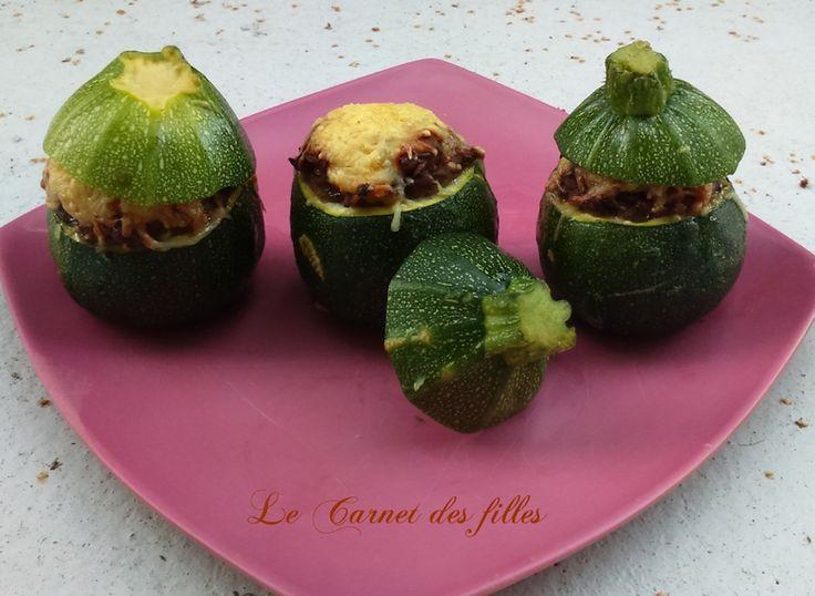 Le Carnet Des Filles - Blog Lifestyle, Cuisine, Loisirs créatifs, Beauté et Voyages: Courgettes farcies végétariennes