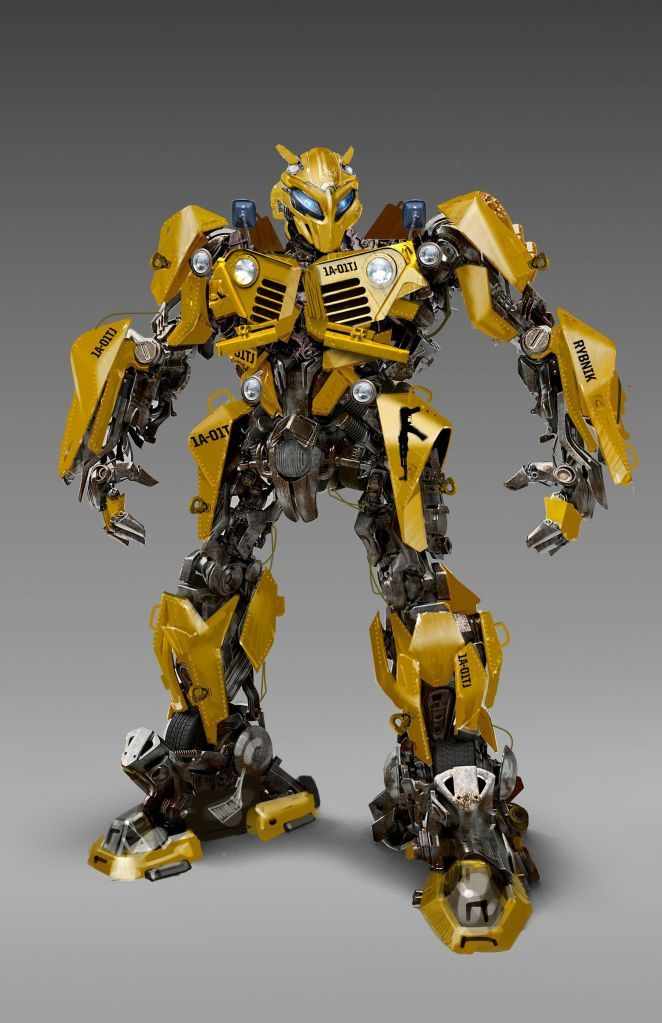 The Concept Art For Transformers Bumblebee 2018