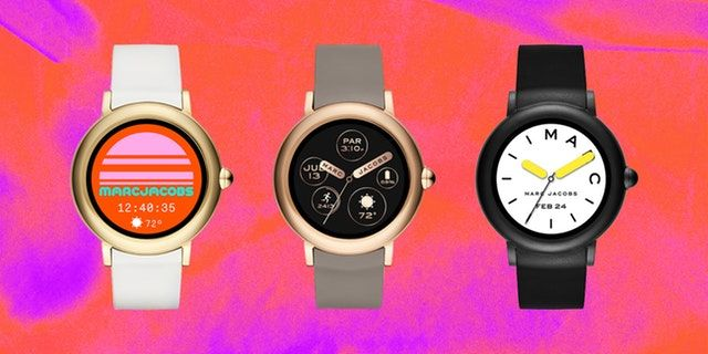 Here S Your First Look At Marc Jacobs Debut Touchscreen Smartwatch Smart Watch Tech Fashion Marc Jacobs