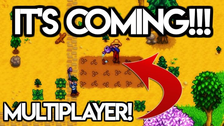 STARDEW VALLEY MULTIPLAYER IS COMING!