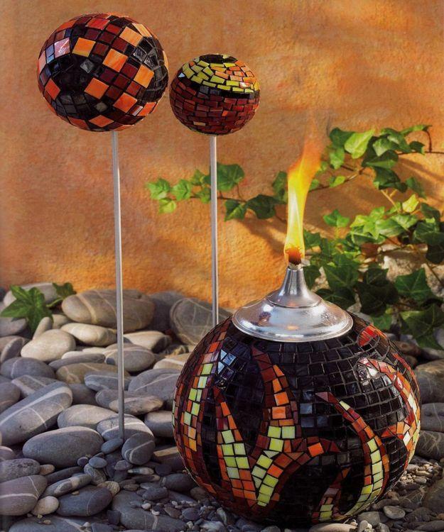 Mozaicuri - Glob de foc