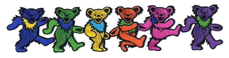 "GRATEFUL DEAD dancing bears (wiki):Dancing bears: A series of stylized dancing bears was drawn by Bob Thomas as part of the back cover for the album History of the Grateful Dead, Volume One (Bear's Choice).[57] The bear is a reference to Owsley ""Bear"" Stanley, who recorded and produced the album. Bear himself wrote, ""... the bears on the album cover are not really 'dancing'. I don't know why people think they are, their positions are quite obviously those of a high-stepping march"