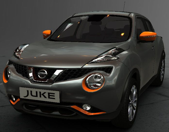 New Nissan Juke Exclusive Exterior Style Pack ORANGE New Genuine KE600BV011OR