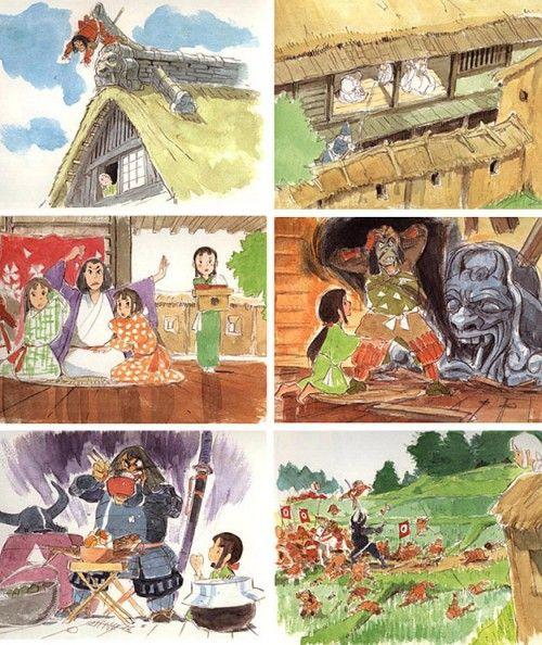 Studio Ghibli's Forgotten Concept Art - Rice DigitalRice Digital