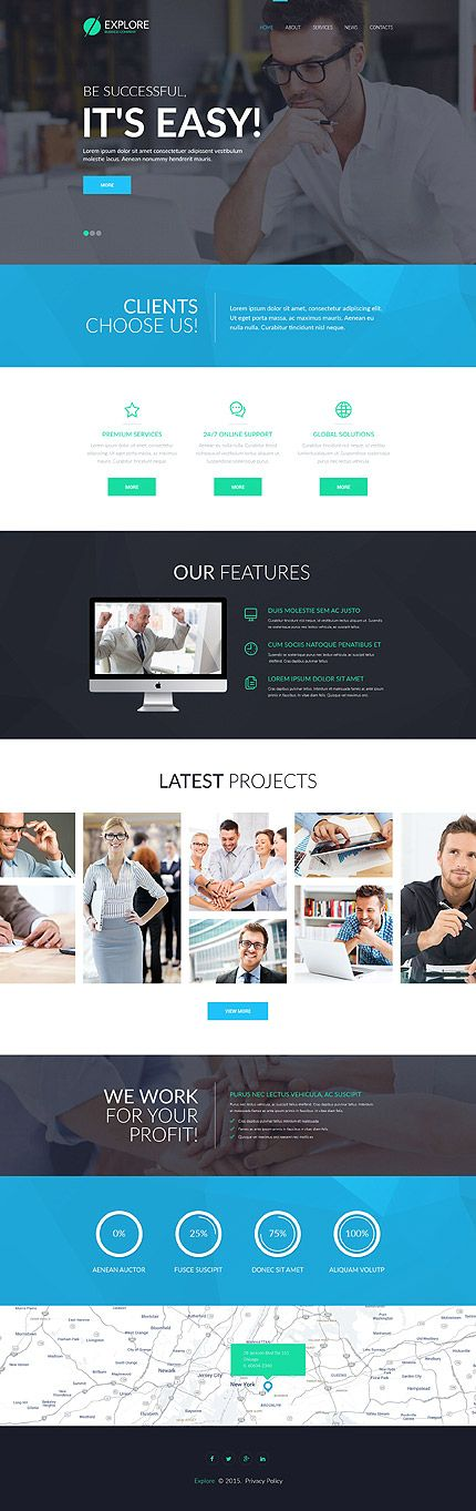 43 best business website templates images on pinterest business buy this business company site template at a reasonable price today wajeb
