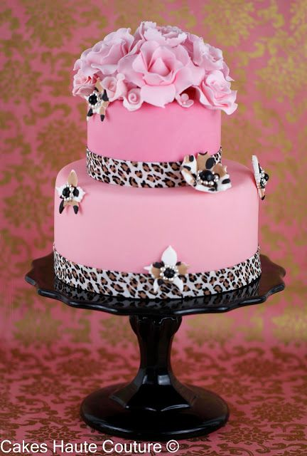 Haute Cakes Couture - Couture Cakes: Cake Tutorial animal print and on-line courses