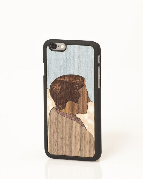 "Donald ""Valuable Leisures"" wooden iPhone cover by Wood'd"