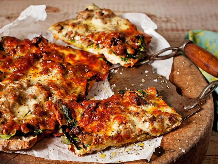 Using Turkish bread as a pizza base makes this a super-speedy meal. Perfect for busy weeknights.