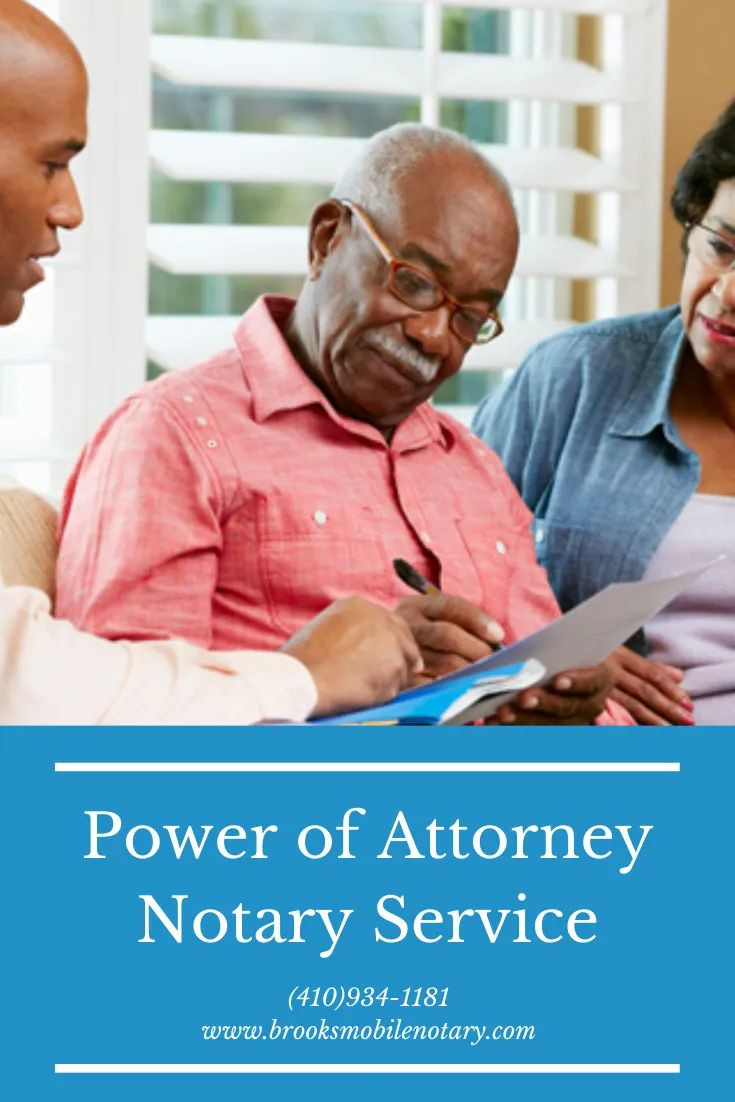 Limited power of attorney notary service for bill of sale