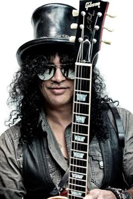 Slash is one of my favorite rock musicians and a great inspiration for the style I seek in guitar playing.