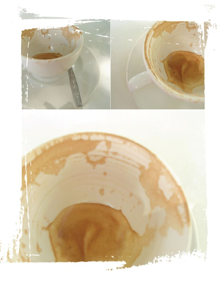 What a lovely cup of coffee