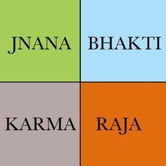bhakti karma raja jnana yoga