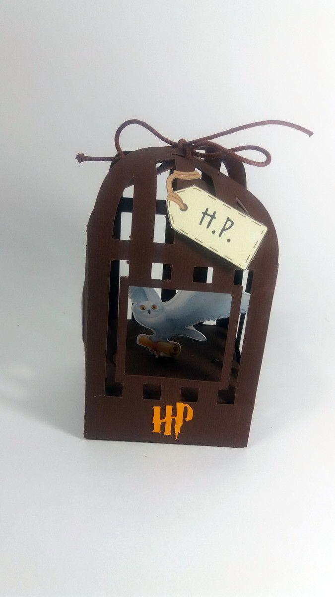 Gaiolinha Harry Potter | Ideia artes em papel | Elo7