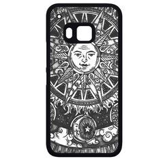 Sun And MoonPhonecase Cover Case For HTC One M7 HTC One M8 HTC One M9 HTC ONe X