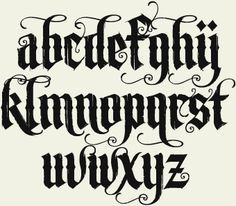 ye olde typography - Google Search